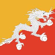 Bhutanese Flag